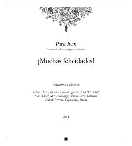 Cuentos del Picogordo. Colección ILUSTRATORIA. Dedicatoria-Felicitación