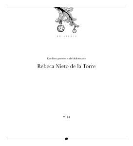 Cuentos del Picogordo. Colección ÁRBOL DE HORAS. Ex libris (página de propiedad)