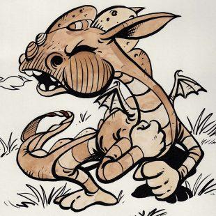 Cuentos del Picogordo. El dragón de los peniques