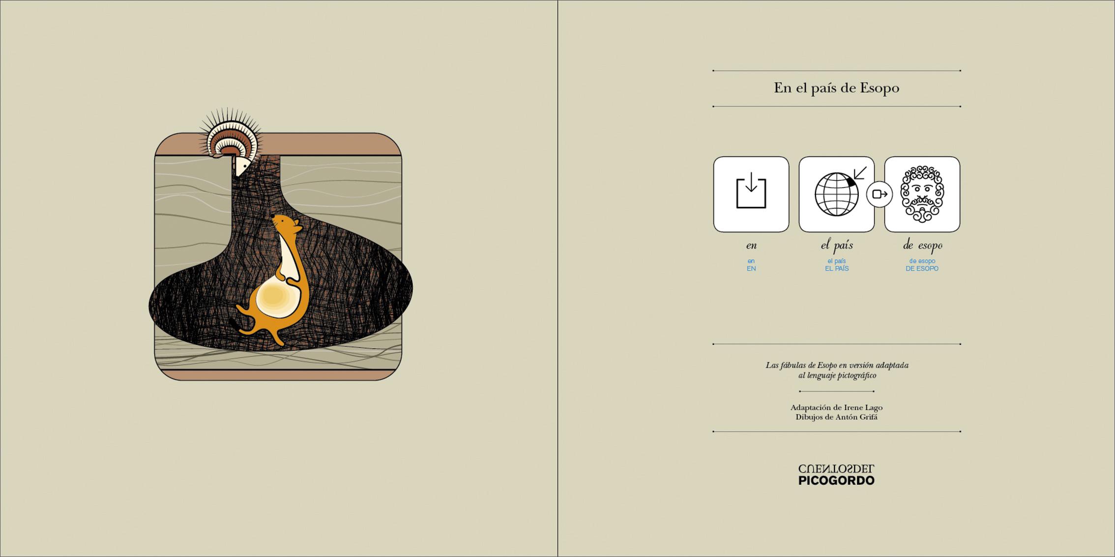 Cuentos ilustrados basados en el sistema pictográfico de comunicación (SPC)