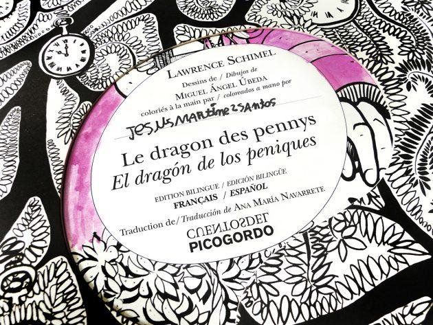 El dragón de los peniques. Cuento bilingüe. Bilingual. Bilingue.